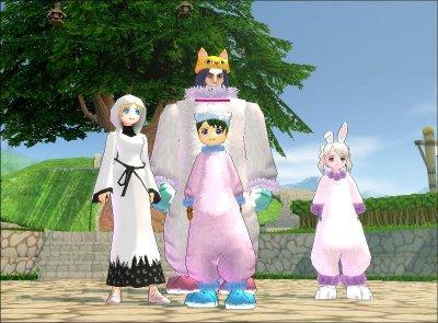 3D MMORPG 無料オンラインゲーム『マビノギ』