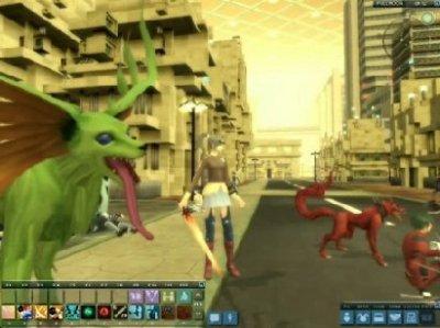 3D MMORPG 無料オンラインゲーム『女神転生IMAGINE』