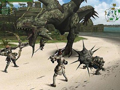3D MMORPG オンラインゲーム 「モンスターハンターフロンティア」