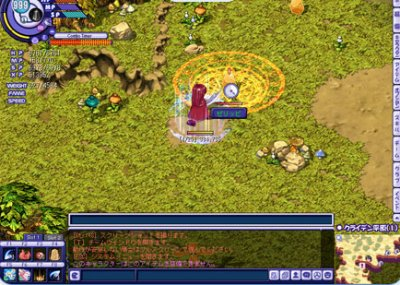 2D MMORPG 無料オンラインゲーム『テイルズウィーバー』