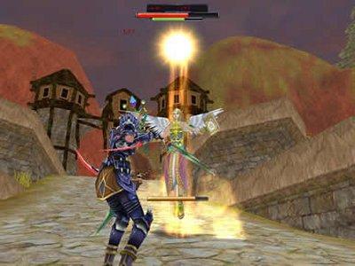 3D MMORPG オンラインゲーム 「天上碑外伝」