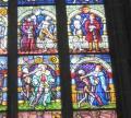 ベルン大聖堂ステンドグラス拡大