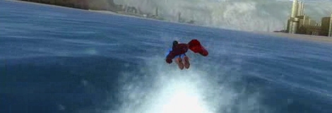 自由自在に空を飛び回る!Superman Returnsのムービー
