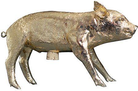 金の豚貯金箱