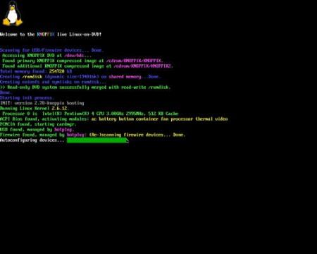 起動DOS画面