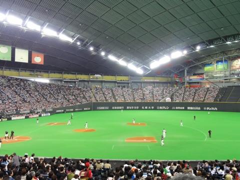 一塁側席(2011.05.08)