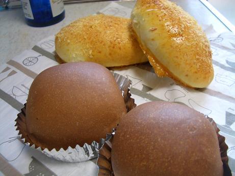 チョコパン&焼きカレーパン