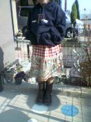 2段スカート