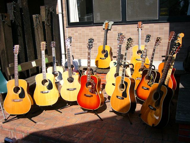 ギター大集合