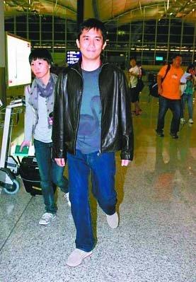 トニーさん@重慶機場