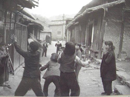 昭和の貞光の子供たち。