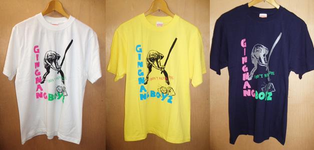 銀杏BOYZ ツアーTシャツ