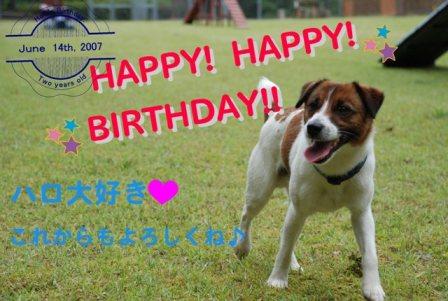 誕生日♪♪