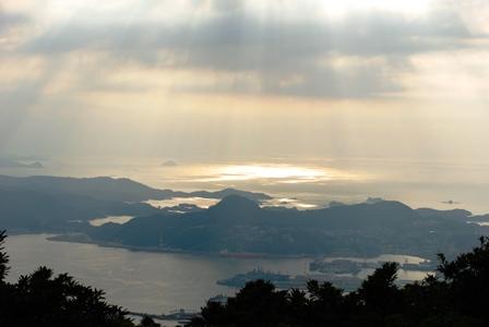 烏帽子岳からの景色