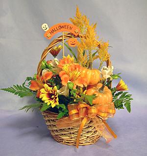 ハロウィンのアレンジ