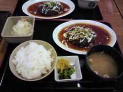 20110801ハンバーグ定食