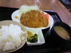 20110801トンカツ定食
