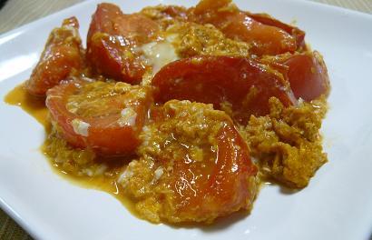 トマトの玉子炒め