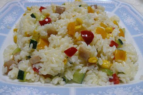 夏野菜のマヨ寿司