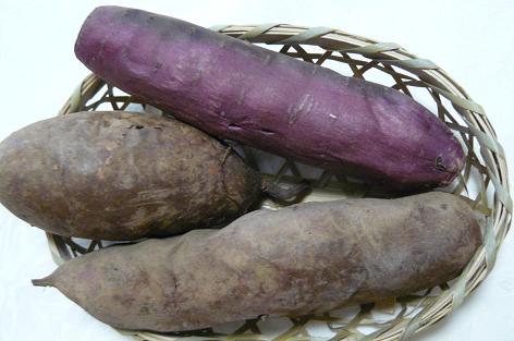 焼き芋三種