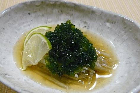 川茸とヤーコンのうま酢
