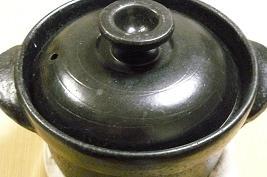 土鍋でゴハンを炊く
