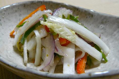 半端野菜のサラダ