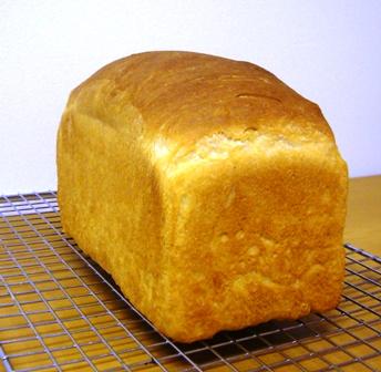 紅茶酵母はちみつ食パン0629