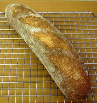 レーズン酵母フランスパン4回目0708