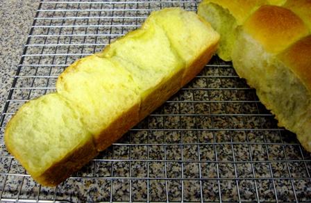 レーズン酵母ちぎりパン断面