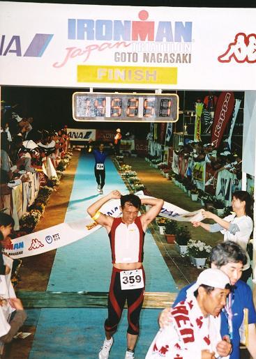 2006 IRONMAN JAPAN  制限7分前完走
