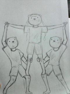 体育祭プログラム裏(下書き完成)