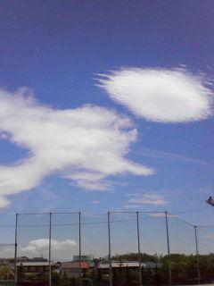 この雲うまそうじゃね?