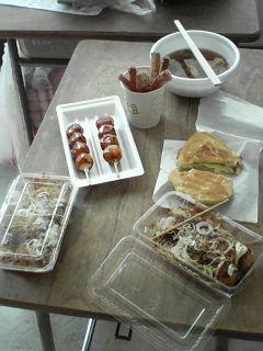 文化祭・食べ物