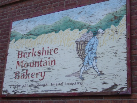 Berkshires Mountain Bakery Sign