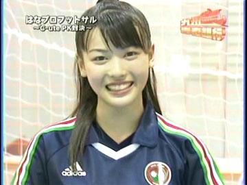 笑顔で本日の感想を答える矢島舞美さん
