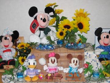 夏祭りミッキー