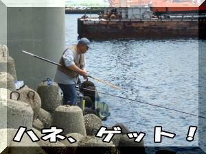 喜多さんがハネをゲット!