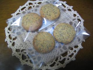 ポピーシードクッキー