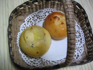 ゴマゴマチーズパン