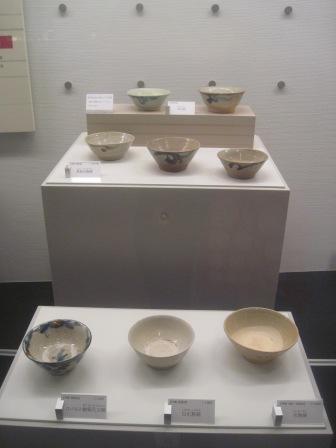 展示物の数々