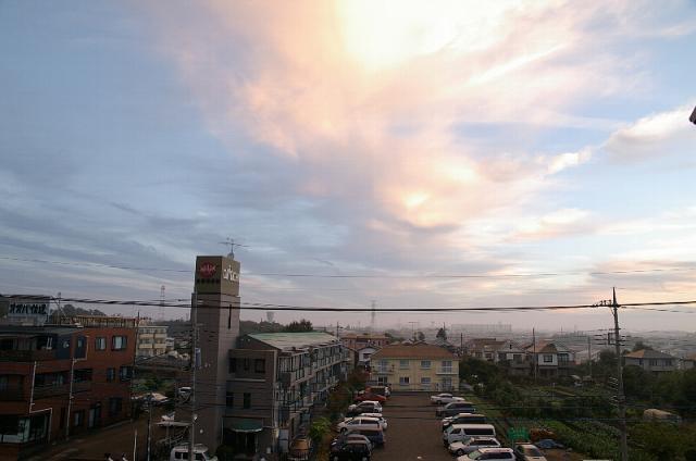 ある朝の風景