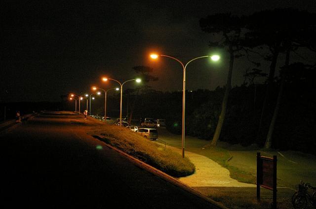 千本浜の夜景