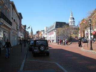 アナポリスメインストリート