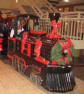クリスマス仕様のChoo Choo Train