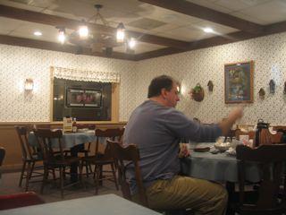 Hershey Farm innの食堂
