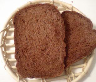 ココアたっぷり食パン