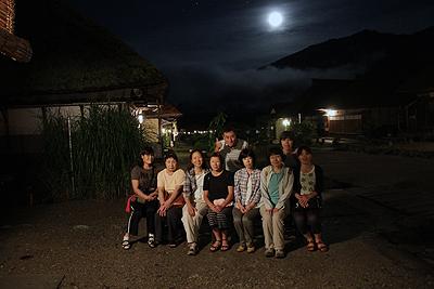 大内宿 ホタル鑑賞ツアー 0811