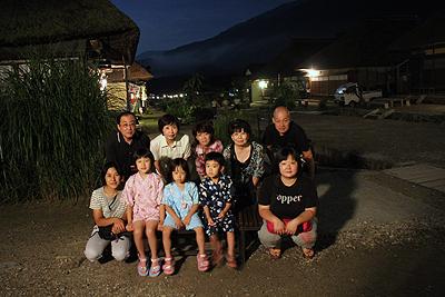 大内宿 ホタル鑑賞ツアー 0809