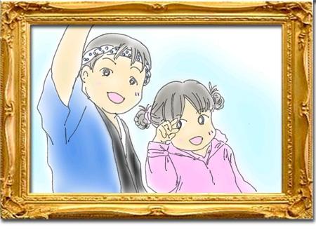 みみさん作「祭りでワッショイ!プリキュアメタモルフォーゼ!!」
